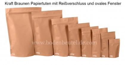 Braune Papiertüten