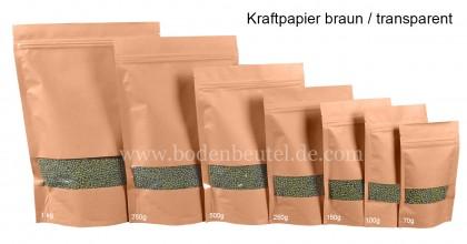 Kraftpapier Braun / Transperent